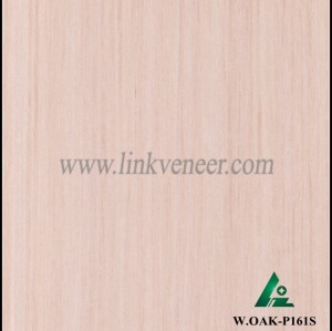 W.OAK-P161S, High grade furniture used hot sell engineer washed oak wood veneer
