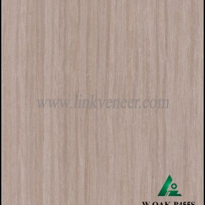 W.OAK-P455S, high grade furniture used engineer washed oak veneer