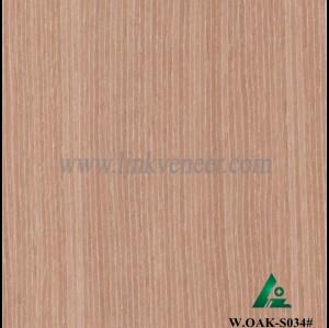 W.OAK-S034#, oak fancy veneer ,beautiful engineered wood veneer
