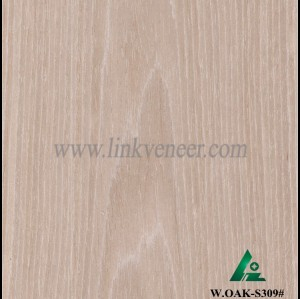 W.OAK-S309#, Oak engineered veneer reconstituted veneer recon veneer supplier