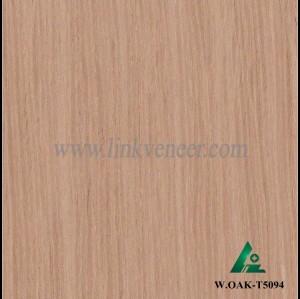 W.OAK-T5094, Beautiful Engineered washed oak wood veneer for hotel decoration