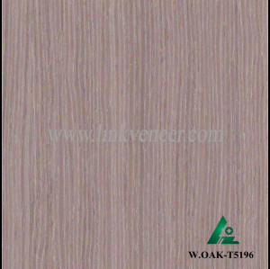 W.OAK-T5196, Engineered white oak veneer, artificial white oak face veneer