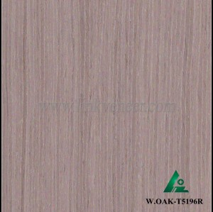 W.OAK-T5196R, Engineered white oak veneer, artificial white oak face veneer