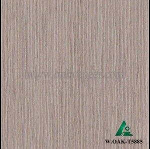 W.OAK-T5885, wash oak engineered veneer reconstituted veneer recon washed veneer supplier