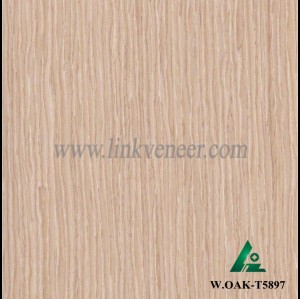 W.OAK-T5897, wash oak engineered veneer reconstituted veneer recon veneer supplier