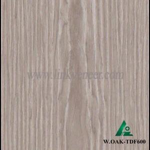 W.OAK-TDF600, engineered oak wood veneer / recon veneer