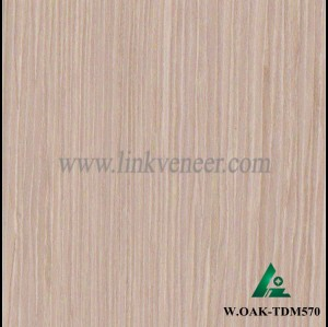 W.OAK-TDM570, washed oak wood engineered wood veneer