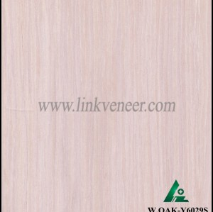 W.OAK-Y6029S, engineered oak wood veneer / recon oak fancy veneer