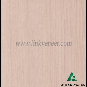 W.OAK-Y6206S, engineered oak wood veneer / recon veneer