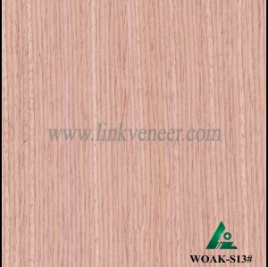 WOAK-S13#,  Manufacturer supply oak color face veneer