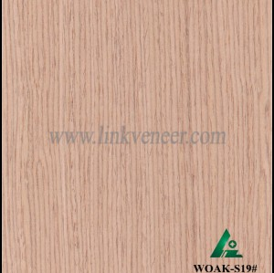 WOAK-S19#, Oak engineered veneer reconstituted veneer recon veneer supplier