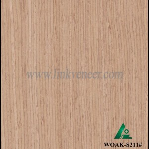 WOAK-S211#, engineered oak wood veneer / recon veneer
