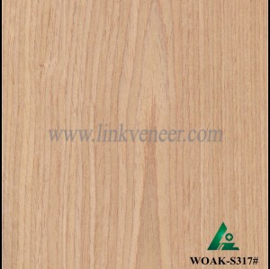 WOAK-S317#, engineered oak wood veneer for plywood face and furniture face