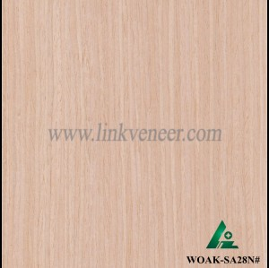 WOAK-SA28N#, white oak face veneer used for furniture