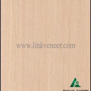 WOAK-Y6029S, engineered wood veneer recon white oak veneer diagonal size 2500*640mm