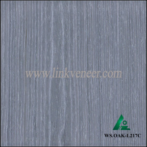 WS.OAK-L217C, Factory products high quality oak veneer for furniture plywood face size 2500x640 mm oak plywood face