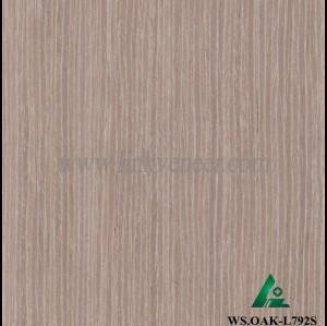WS.OAK-L792S, oak engineered wood veneer technology wood veneer recon veneer slice wood veneer size 2500*640mm
