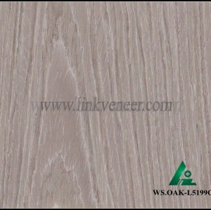 WS.OAK-L5199C, High quality manufacturer supply recon wood veneer oak veneer purple color engineered wood sapelie veneer