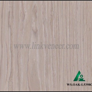 WS.OAK-L5398C, fashion in india oak veneer for plywood face engineered wood veneer thickness 0.3mm