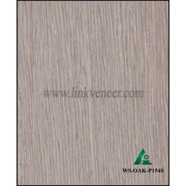 WS.OAK-P154S, engineered yellow oak face veneer 0.3mm face veneer