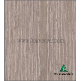 WS.OAK-S301#, oak engineered veneer reconstituted veneer recon veneer supplier