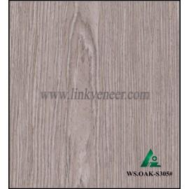 WS.OAK-S305#, washed oak wood engineered veneer for plywood