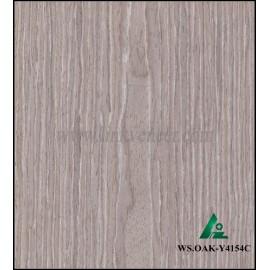 WS.OAK-Y4154C, engineered oak wood veneer / recon veneer