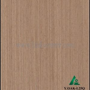 Y.OAK-L25Q, Engineered oak wood veneer for hotel decoration