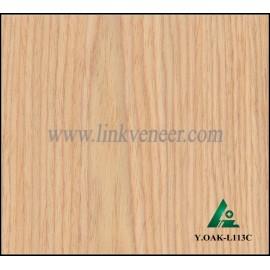 Y.OAK-L113C, recon oak face veneer engineered wood veneer size 2500*640mm slice wood veneer