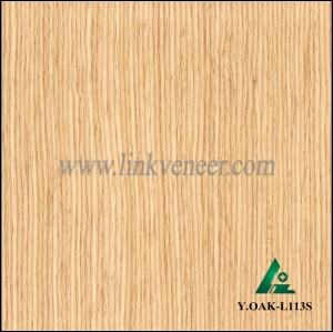 Y.OAK-L113S, engineered wood veneer oak face veneer