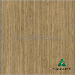 Y.OAK-L5617S, Engineered wood veneer OAK veneer for interior doors face and plywood face