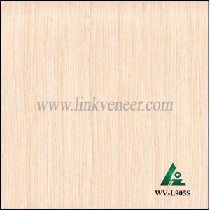 WV-L905S, White vine wood veneer with high grade face veneer for furniture/plywood engineered wood veneer