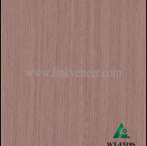 WT-F519S, walnut face veneer engineered face veneer engineer veneer wood veneer for plywood face veneer