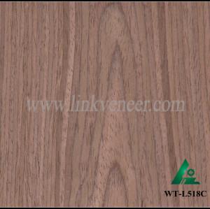 WT-L518C, Home decoration Walnut Engineered Veneer