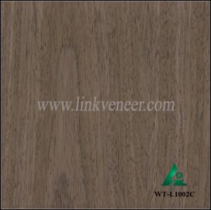 WT-L1002C, Engineered wood veneer of walnut