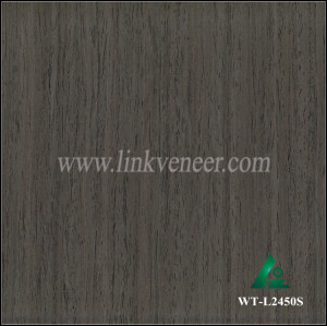 WT-L2450S, engineered wood veneer,reconstituted walnut veneer