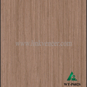WT-P682S, high quality engineered walnut face slice wood veneer with the cheapest price