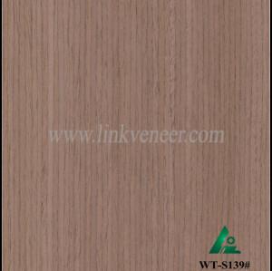 WT-S139#, 0.3mm 4*8 walnut engineered wood veneer