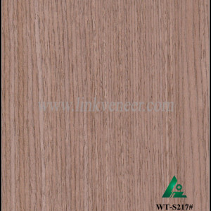 WT-S217#, Engineered Walnut Veneer---recomposed wood veneer