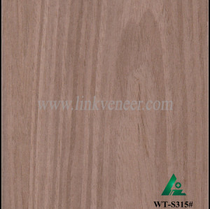 WT-S315#, Black Walnut Artificial Veneer for Decoration