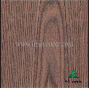 WT-Y4516C, 0.35MM 2*8 black walnut quarter cut veneer/engineered walnut wood veneer face veneer sheet