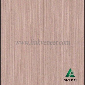SI-T3221, Engineered straight grain oak wood veneer