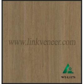 WT-L117S, Engineered wood veneer Walnut veneer for interior doors face and plywood face