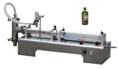 小型半自动单头液体灌装机