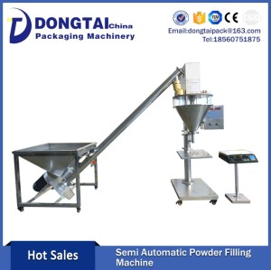 Semi-Automatic chili powder and packing machine