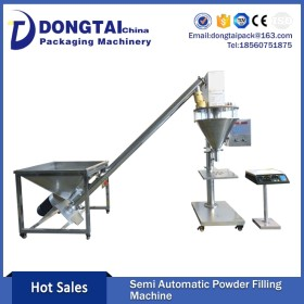 Semi-Automatic chili powder and packing machine