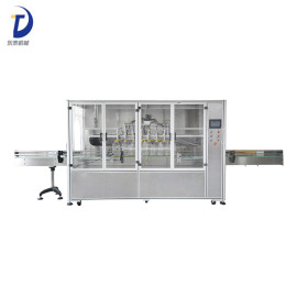 Automatic Plastic Bottle Edible Oil Filling Machine
