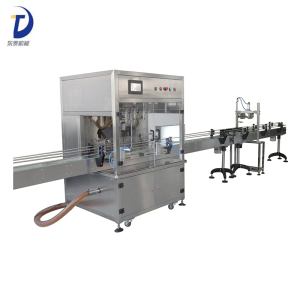 Automatic sunflower oil filling machine/cooking food oil filling machine