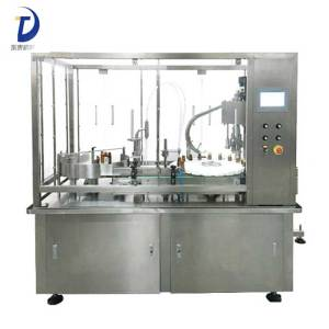 10 ml Liquid Rotary Filling Capping Machine