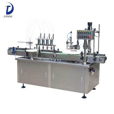Small Bottle Medical Filling and Capping Machine